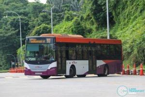 Bus 93 - SBS Transit Scania K230UB Euro V (SBS5031D)