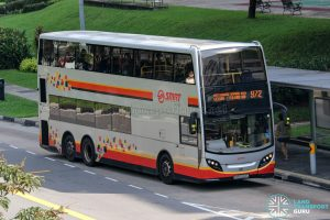 Bus 972 - SMRT Buses Alexander Dennis Enviro500 (SMB5042G)