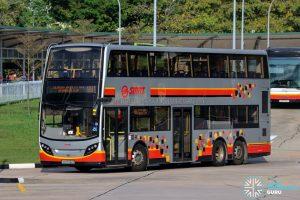 Bus 981 - SMRT Buses Alexander Dennis Enviro500 (SMB5060D)