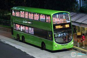 Bus 851 - SBS Transit Volvo B9TL Wright (SG5064X)