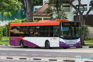 Bus 33 - SBS Transit Scania K230UB Euro V (SBS5072K)
