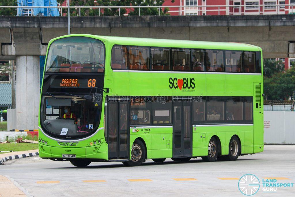 Bus 68 - Go-Ahead Singapore Volvo B9TL Wright (SG5084M)