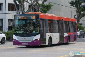 Bus 16M - SBS Transit Scania K230UB Euro V (SBS5123Y)