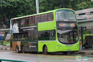 Bus 851 - SBS Transit Volvo B9TL Wright (SG5136Y)