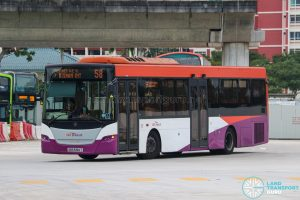 Bus 58 - SBS Transit Scania K230UB Euro V (SBS5123T)