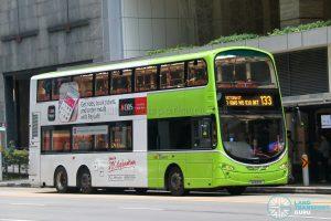 Bus 133 - SBS Transit Volvo B9TL Wright (SG5183K)