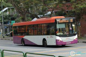 Bus 32 - SBS Transit Scania K230UB Euro V (SBS5208L)
