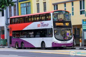 Bus 147 - SBS Transit Volvo B9TL Wright (SG5325T)