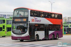 Bus 168 - SBS Transit Volvo B9TL Wright (SG5335P)