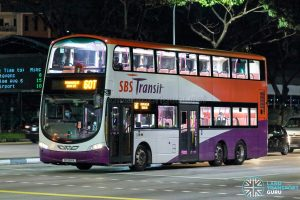 Bus 60T - SBS Transit Volvo B9TL Wright (SG5341X)