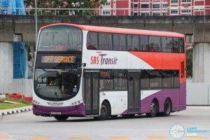 Off Service - SBS Transit Volvo B9TL Wright (SG5366A)