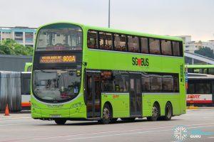 Bus 900A - SMRT Buses Volvo B9TL Wright (SG5421Z)