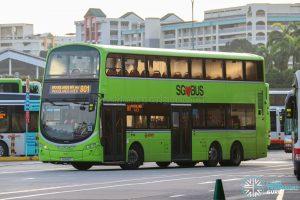 Bus 901 - SMRT Buses Volvo B9TL Wright (SG5421Z)