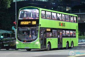 Bus 198 - SBS Transit Volvo B9TL Wright (SG5478K)
