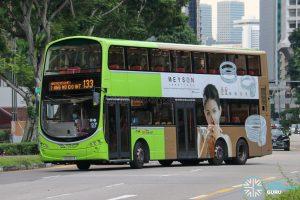 Bus 133 - SBS Transit Volvo B9TL Wright (SG5507K)