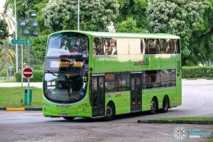 Bus 961M - SMRT Buses Volvo B9TL Wright (SG5518D)