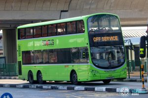 Off Service - SMRT Buses Volvo B9TL Wright (SG5528A)
