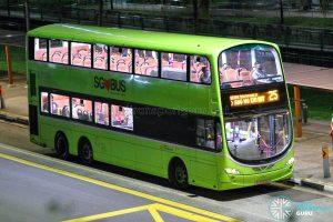 Bus 25 - SBS Transit Volvo B9TL Wright (SG5569G)