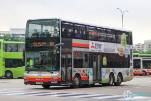 Bus 169 - SMRT Buses MAN A95 (SG5750Z)