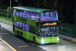 Bus 857B - SMRT Buses MAN A95 (SG5784B)