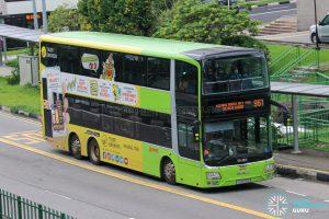 Bus 961 - SMRT Buses MAN A95 (SG5809P)