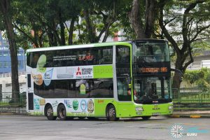Bus 985 - SMRT Buses MAN A95 (SG5823Y)