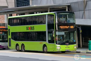 City Direct 665 - SMRT Buses MAN A95 (SG5826P)