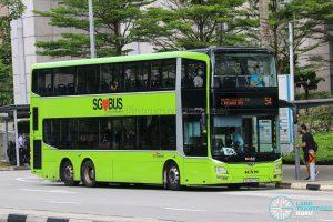 Bus 54 - SBS Transit MAN A95 (SG5837H)