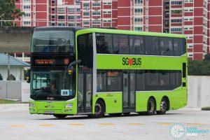 Bus 88 - SBS Transit MAN A95 (SG5844L)