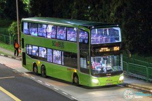 Bus 854 - SMRT Buses MAN A95 (SG5855E)
