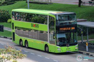 Bus 966 - SMRT Buses MAN A95 (SG5860P)