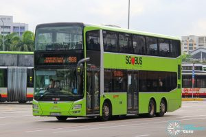 Bus 969 - SMRT Buses MAN A95 (SG5860P)