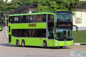 Bus 981 - SMRT Buses MAN A95 (SG5867X)
