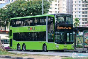 Bus 974 - SBS Transit MAN A95 (SG5896L)