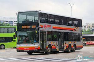 Bus 969 - SMRT Buses MAN A95 (SMB5897G)
