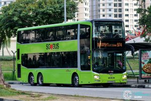 Bus 974 - SBS Transit MAN A95 (SG5898G)