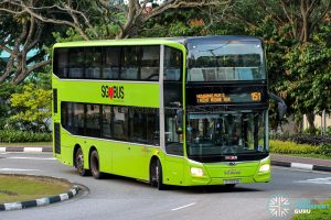 Bus 151 - SBS Transit MAN A95 Euro 6 (SG5933M)