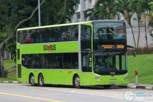 Express 960e - SMRT Buses MAN A95 Euro 6 (SG5945D)