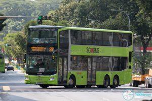 Bus 991 - SMRT Buses MAN A95 Euro 6 (SG6011S)
