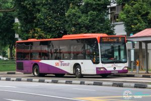 Bus 5 - SBS Transit Mercedes-Benz Citaro (SBS6013A)