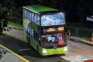 Bus 965T - SMRT Buses MAN A95 Euro 6 (SG6029S)