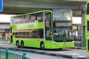 Bus 912M - SMRT Buses MAN A95 Euro 6 (SG6032G)