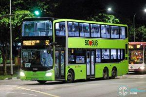 Bus 50 - SBS Transit MAN A95 Euro 6 (SG6042C)