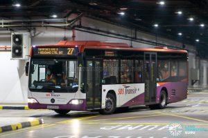Bus 27 - SBS Transit Mercedes-Benz Citaro (SBS6054G)
