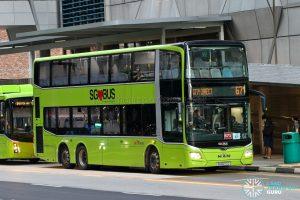 City Direct 671 - SBS Transit MAN A95 Euro 6 (SG6077C)