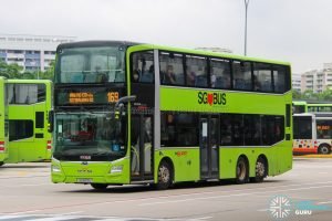 Bus 169 - SMRT Buses MAN A95 Euro 6 (SG6109U)