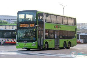 Bus 900A - SMRT Buses MAN A95 Euro 6 (SG6141A)