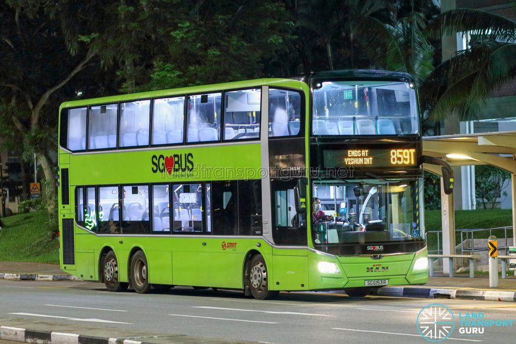 Bus 859T - SMRT Buses MAN A95 Euro 6 (SG6153R)