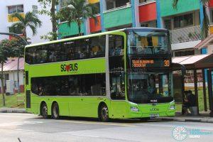 Bus 30 - SBS Transit MAN A95 Euro 6 (SG6163L)