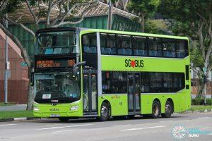 Bus 186 - SBS Transit MAN A95 Euro 6 (SG6164J)